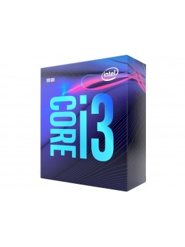 Intel Core i3-9100 9th Generation Desktop Processor (3.60 GHz/ 4.20 GHz Turbo/ LGA1151 Socket/ 6MB Cache)