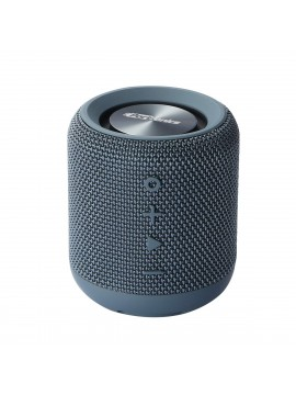 Portronics Sound Drum Portable Bluetooth Speaker with FM & USB Music, Blue (POR-547)