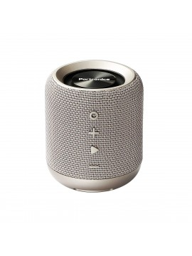 Portronics Sound Drum Portable Bluetooth Speaker with FM & USB Music, Grey (POR-821)
