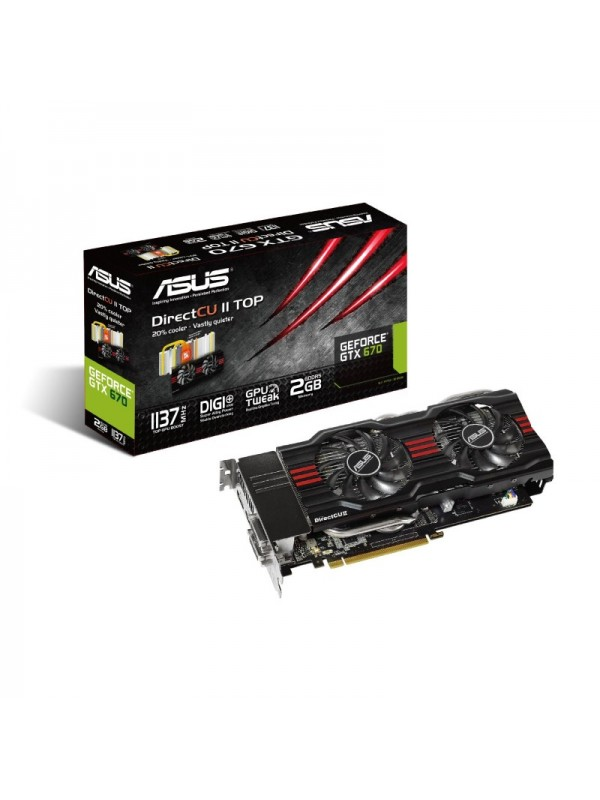 Asus GTX670-DC2T-2GD5 NVIDIA Graphics Card