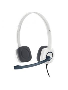 Logitech H150 Stereo Headset -White