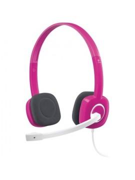 Logitech H150 Stereo Headset- Pink