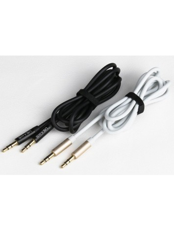 Usams 1M Audio AUX Cable 3.5mm for Phone/ Headphone/MP4/MP3/iPad/Tablet/Speakers