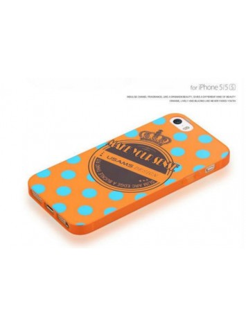 USAMS Perfume And Night Light Soft Case For iPhone 5S - Crown Series