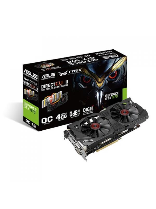 ASUS NVIDIA GeForce GTX 970 4GB GDDR5 Video Card STRIX-GTX970-DC20C-4GD5
