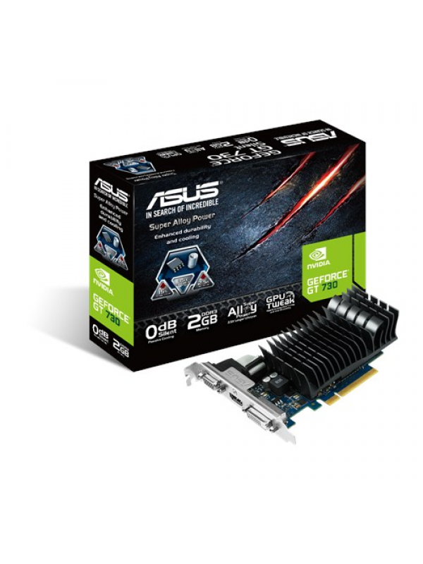 Asus GT730 2GB Graphics Card - (GT730-SL-2GD3-BRK)