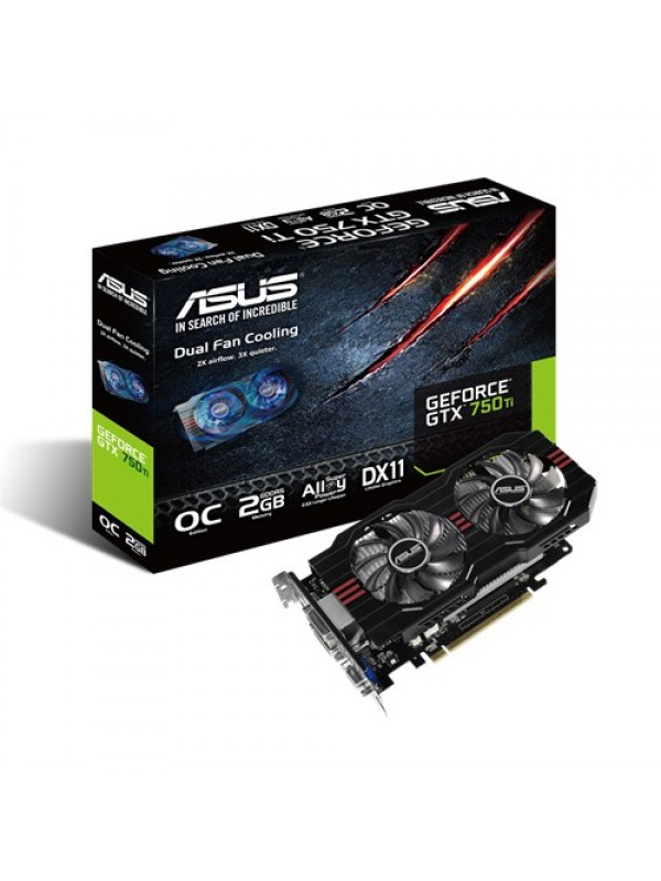 Asus NVIDIA Geforce GTX750Ti OC 2GB Ddr5 Graphics Card (GTX750Ti-OC-2GD5)