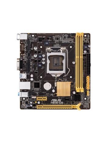 Asus H81M-CS uATX Motherboard for Intel 4th Generation Processors - LGA 1150 Socket