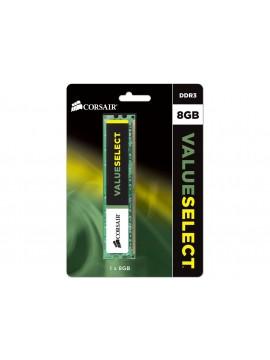Corsair 8GB Value Select Desktop DDR3 1600Mhz RAM - CMV8GX3M1A1600C11