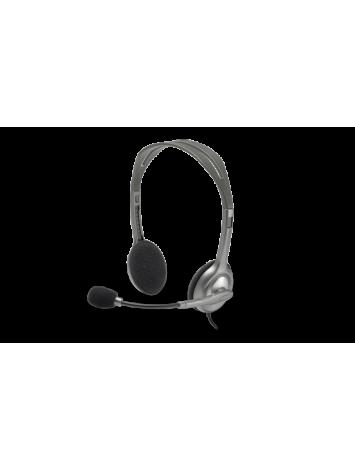 Logitech H111 Stereo Headset -Black