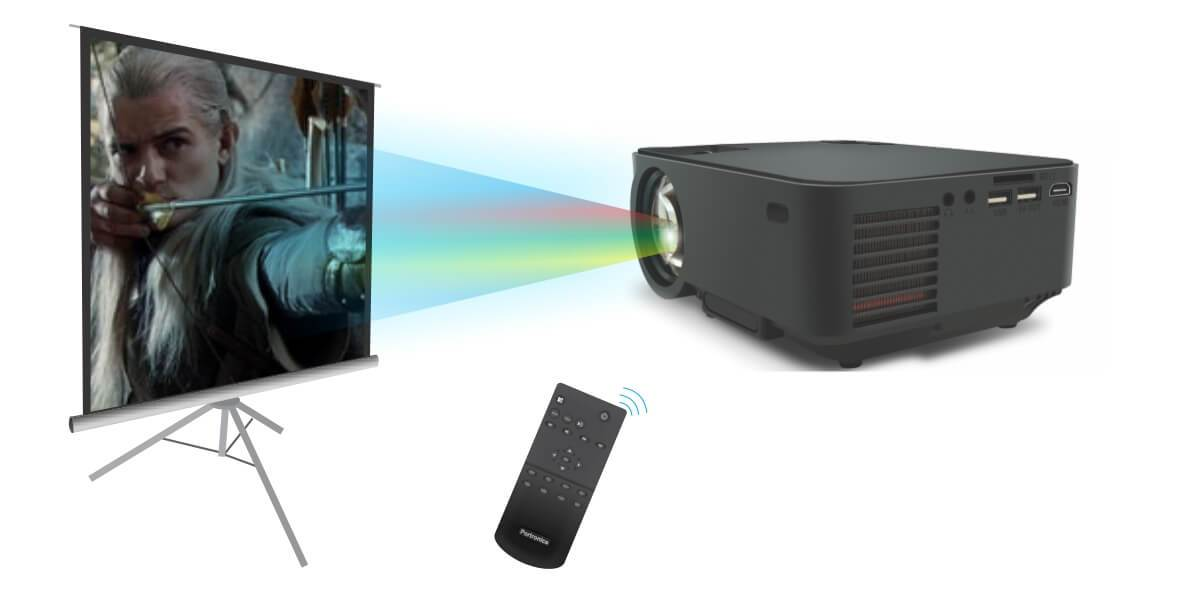 portronics beem 100 projector remote control - specifications
